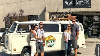 California Themed Brew Tours in a VW Bus