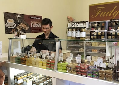 Fudge shop in Hunter Valley