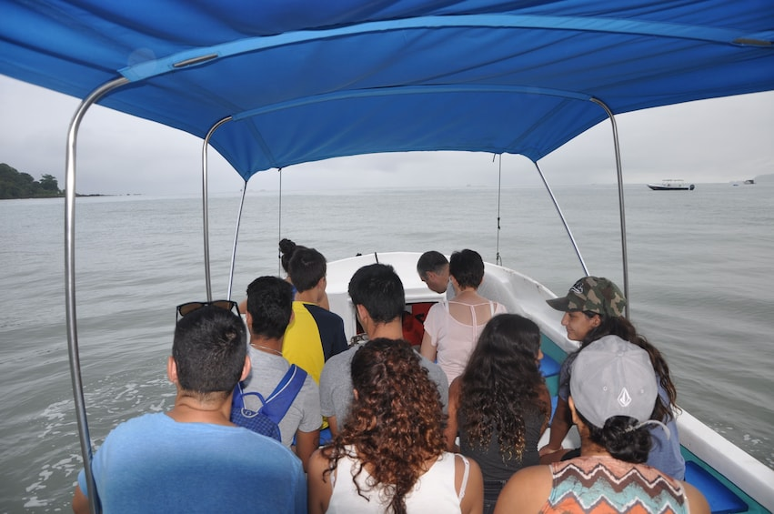 Show item 3 of 3. Boat tour of Corcovado National Park