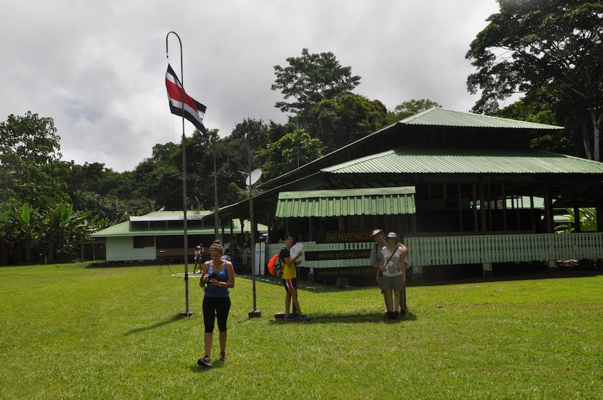 Show item 2 of 3. Tourists in Corcovado National Park