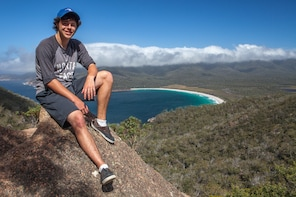 1 Day Wineglass Bay Hobart to Launceston Active Day Tour