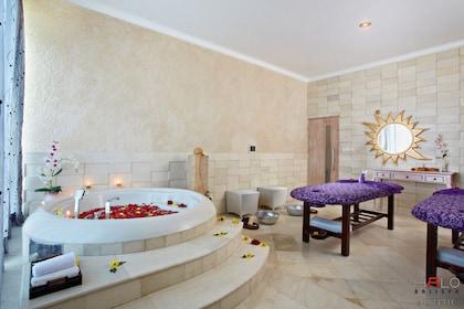 Inside the Halo Bali spa