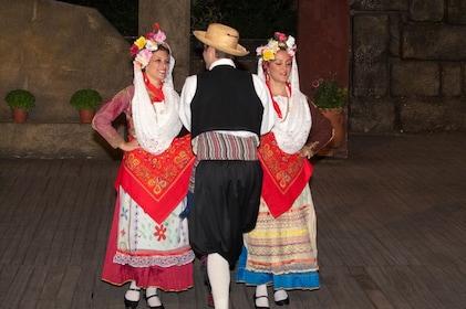 Greek dancers in Athens