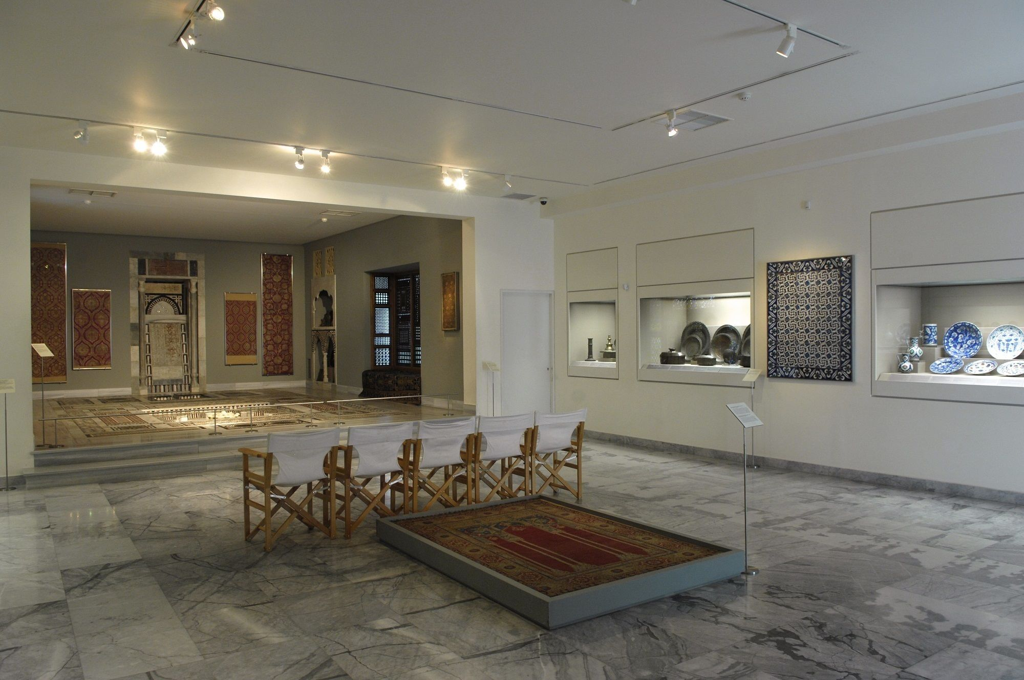 Interior of Benaki Museum of Islamic Art