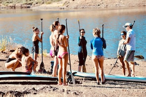 Introduction to SUP course in the south of Gran Canaria