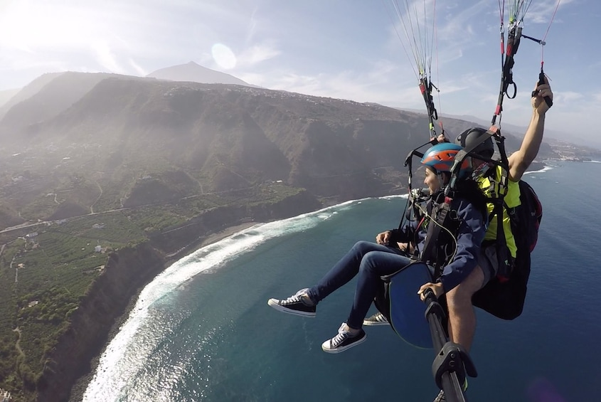 Show item 2 of 4. Tandem paragliding in Tenerife