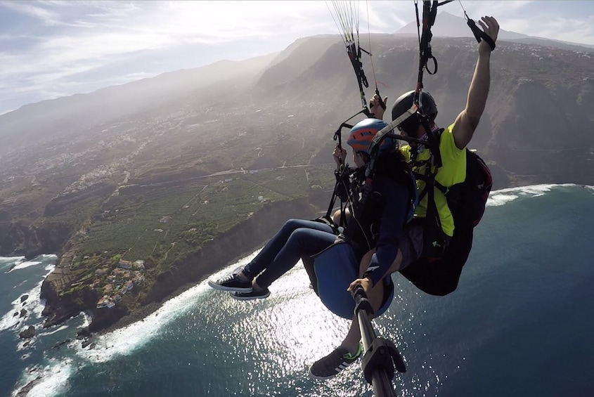 Show item 4 of 4. Tandem paragliding in Tenerife