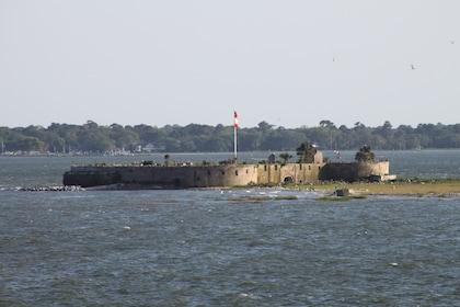 Castle Pickney in Charleston Harbor in South Carolina