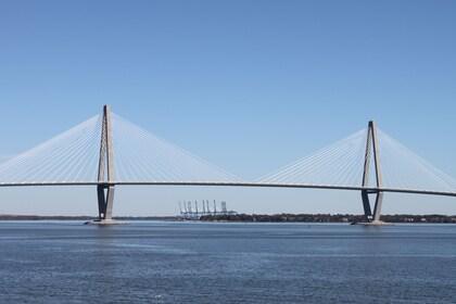 Bridge in Charleston Harbor in South Carolina