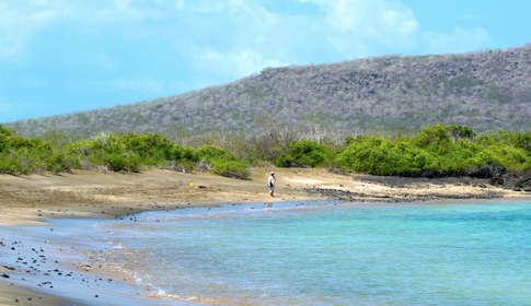 Landscape views of beautiful Floreana Island