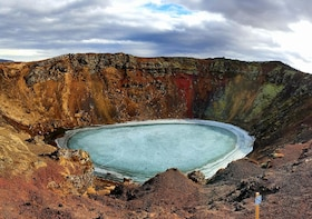Small group - The Golden Circle & Kerid Volcanic Crater