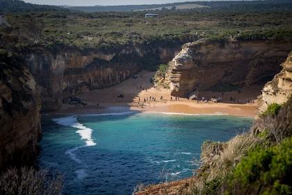 Secluded beach in Australia