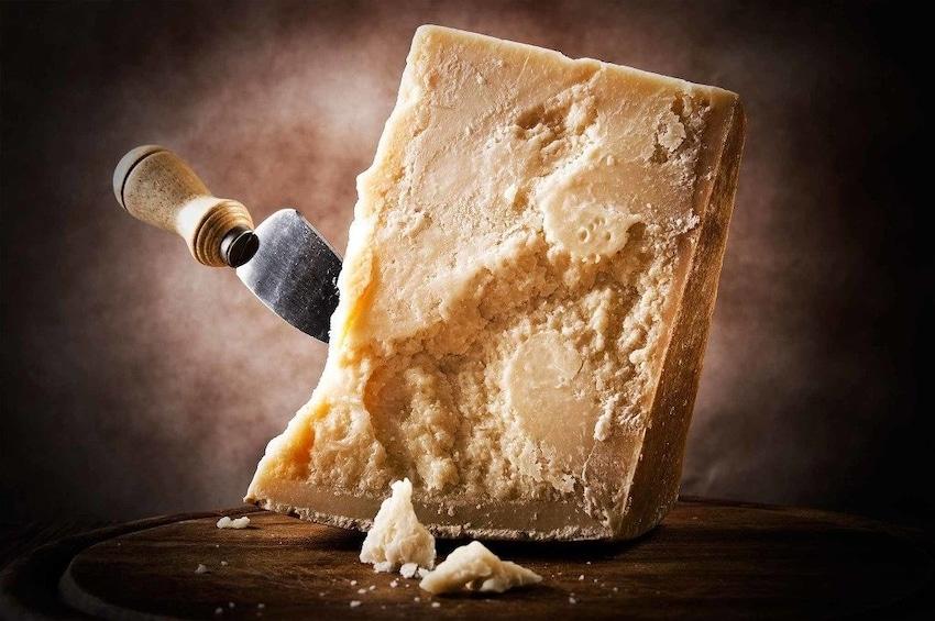 Show item 4 of 8. Parma: Parmigiano Reggiano Cheese Tasting Tour