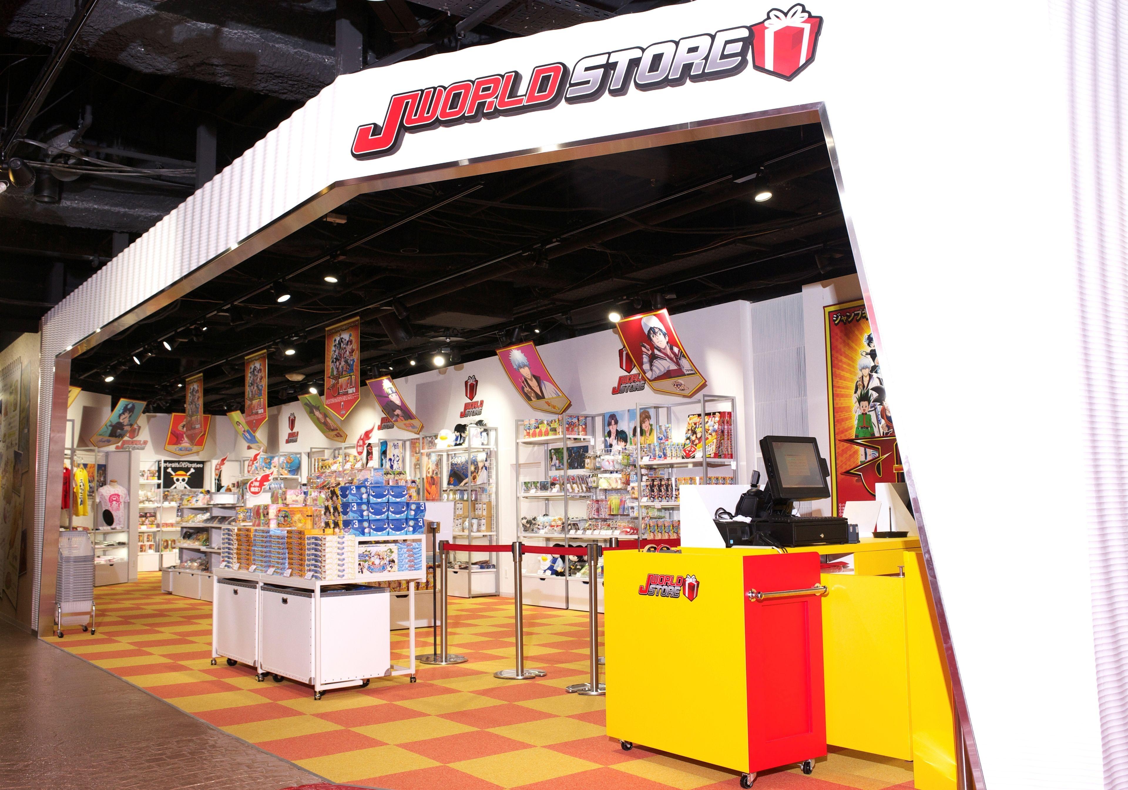 Store at J-World Tokyo