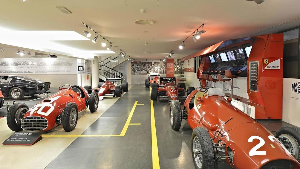 Show item 1 of 8. Ferrari Museum in Bologna