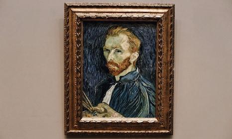 Vincent Van Gogh portrait at National Gallery of Art