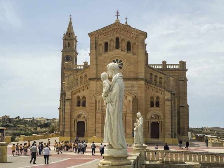 Show item 3 of 6. Ta' Pinu Basilica in Gozo