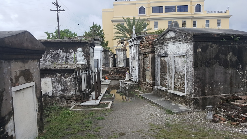 Show item 3 of 5. Cemetery in New Orleans