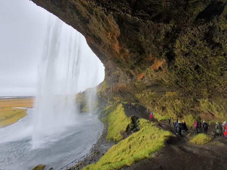 Small Group - South Coast Waterfalls, Black Beach & Glacier
