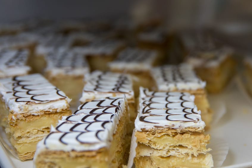 Show item 4 of 8. Napoleon mille-feuille pastry in Boston