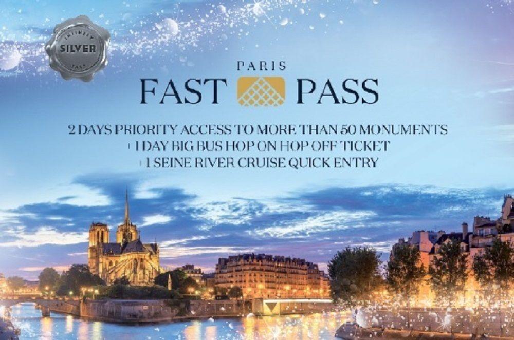 Paris snabbpass: Biljett för museum, Hop-On/Hop-Off och kryssning