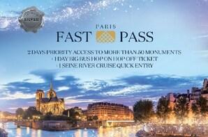Paris Fast Pass : Museum Pass, Hop-On-Hop-Off & Cruise