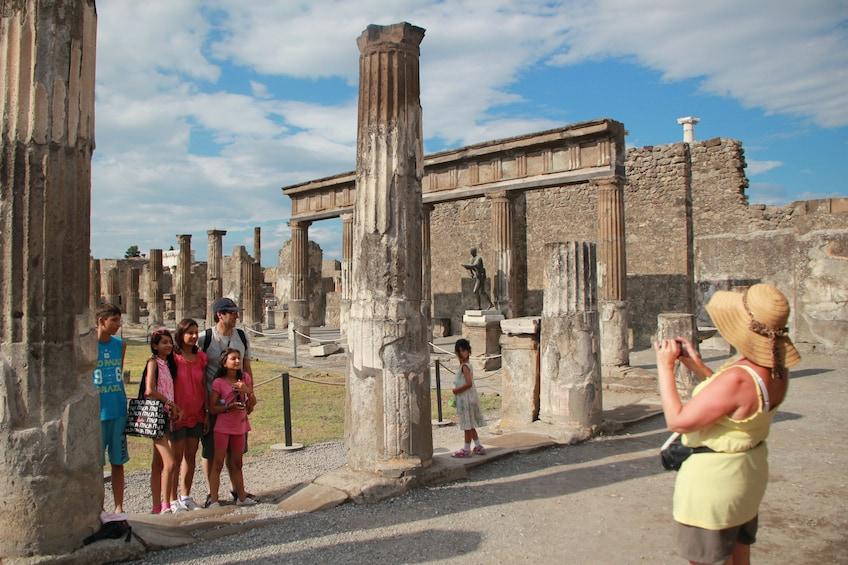 Skip-the-Line Pompeii, Positano & Amalfi Coast Small-Group Tour with Lunch