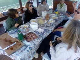 Syracuse Boat Tour with Gourmet Light Lunch