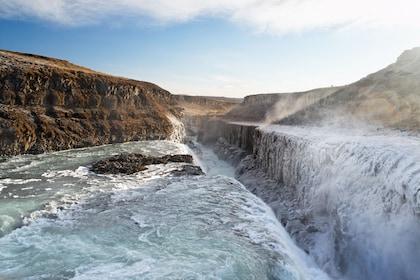 Magnificent view of Cercle d'Or en Islande
