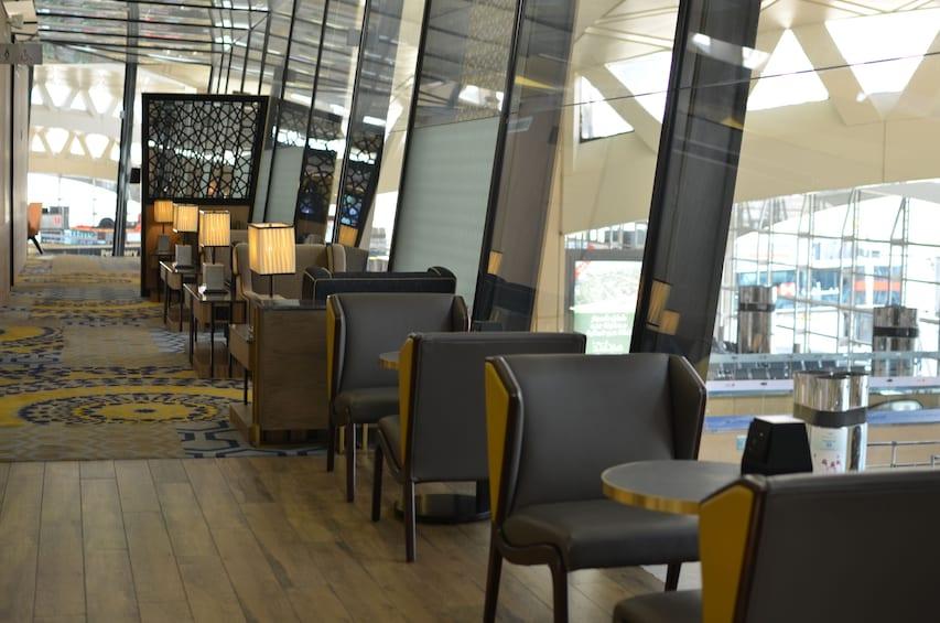 Plaza Premium Lounge at Riyadh King Khalid Intl Airport