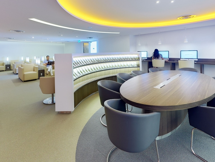 Show item 5 of 5. Skyteam Lounge at Sydney Airport (SYD)