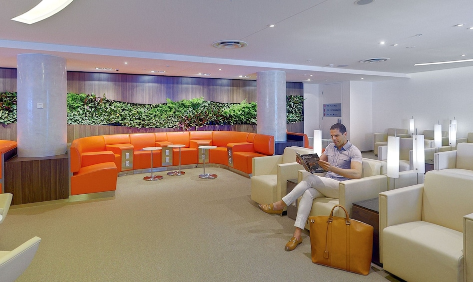 Show item 4 of 5. Skyteam Lounge at Sydney Airport (SYD)