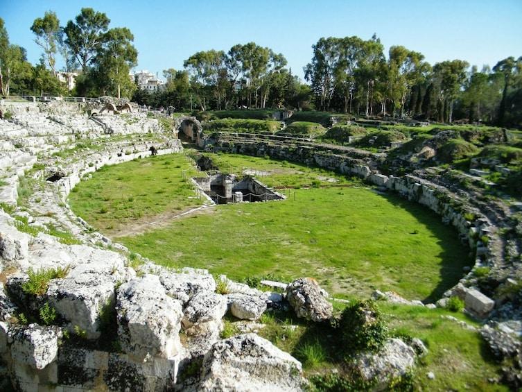 Roman amphitheatre of Syracuse