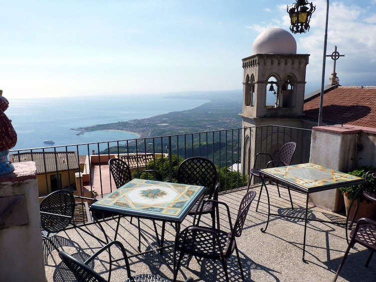 Show item 4 of 6. Beautiful day view of Bar Turrisi from a balcony