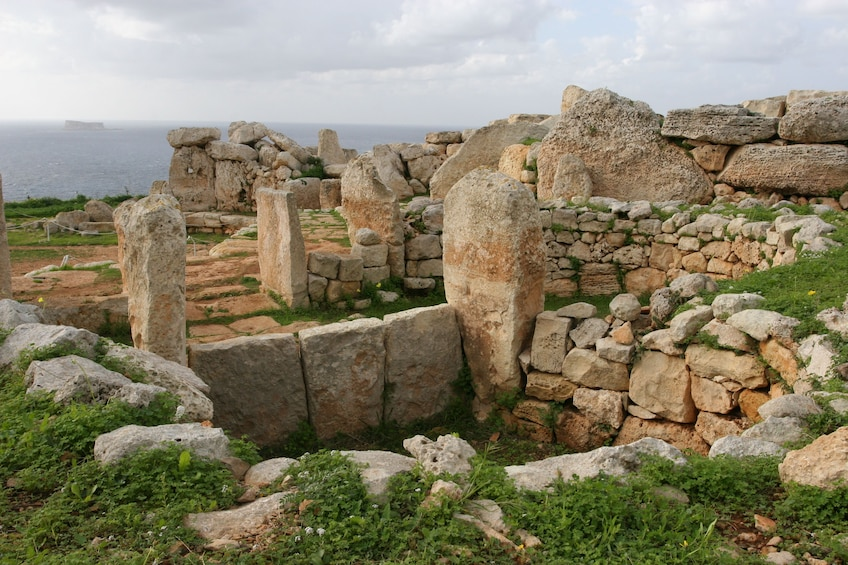 Day time view of Mnajdra Temple