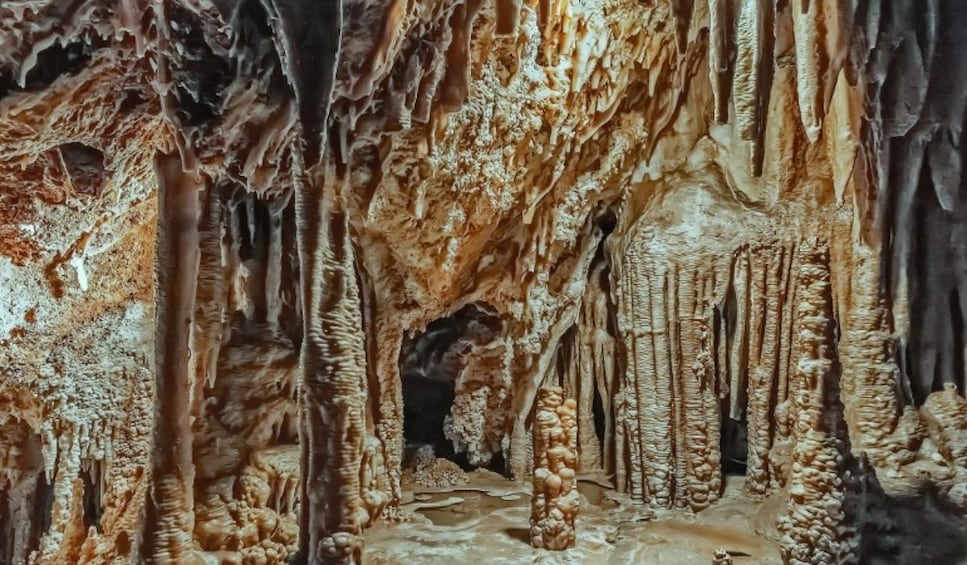 Inside the Genova Caves