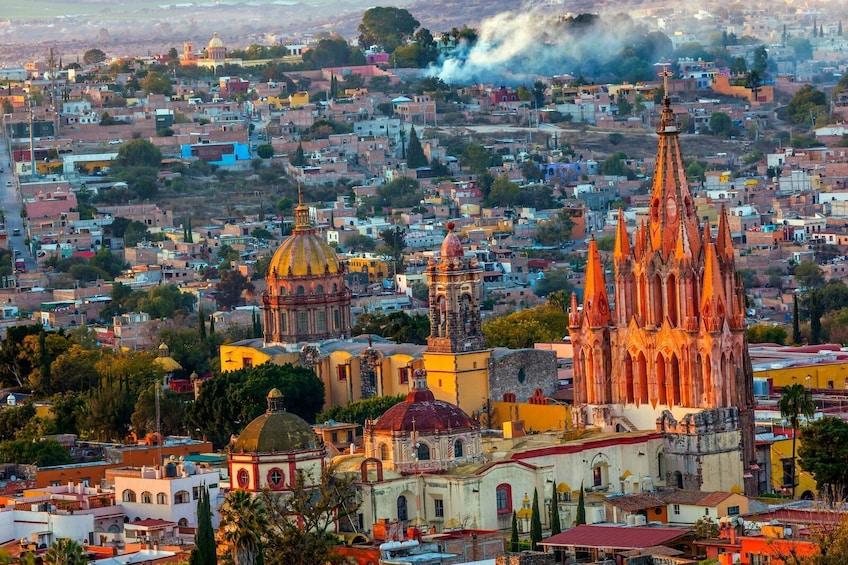 San Miguel de Allende in Mexiceo
