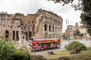 罗马无限次搭乘巴士(含热门景点的优先入场门票)