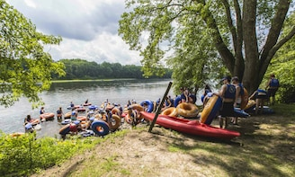 River Tubing & Brewery with Transportation from DC