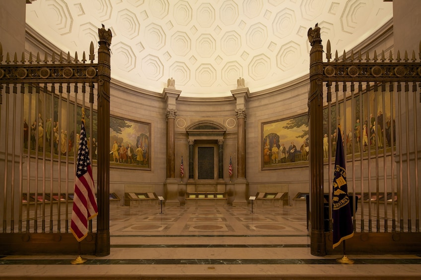 Show item 2 of 9. The Rotunda for the Charters of Freedom in the National Archives building