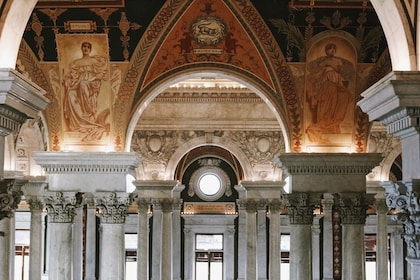 Interior of Library of Congress