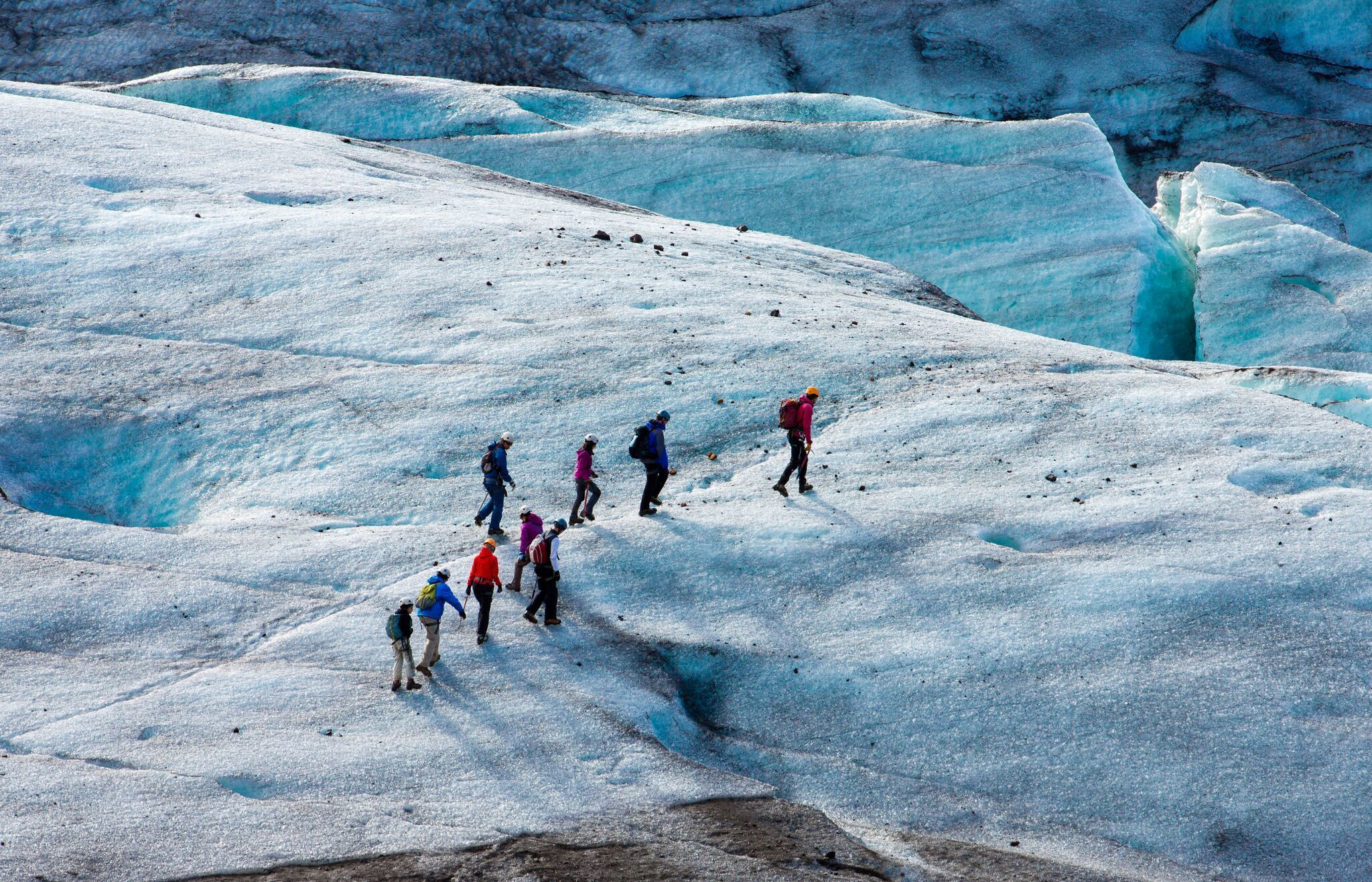 3 Day Tour - Golden Circle, Glacier Hike, Jokulsarlon Boat Tour & more!