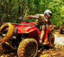 quad bike, Ziplining & Cenote Tour at Extreme Adventure Eco Park