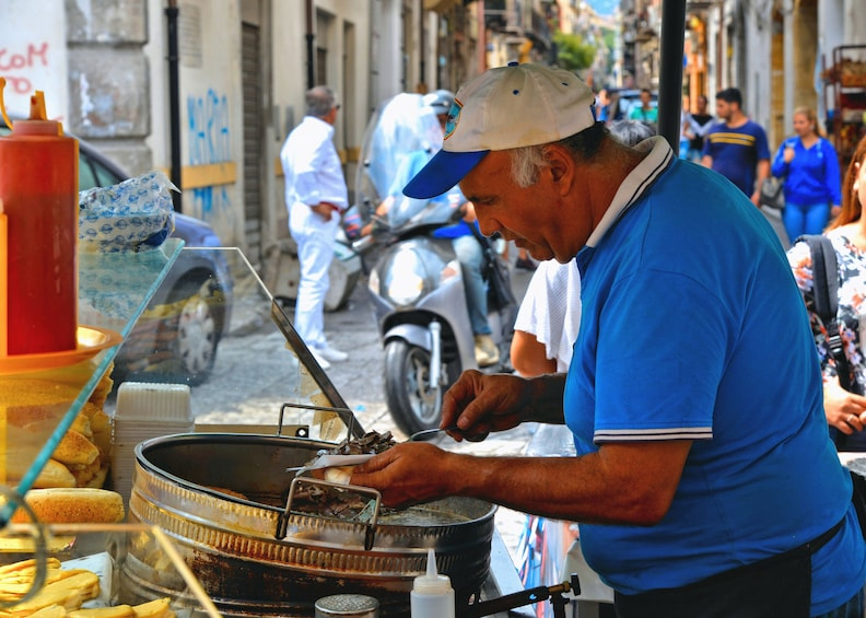 Palermo Market Tour and Traditional Cooking Experience
