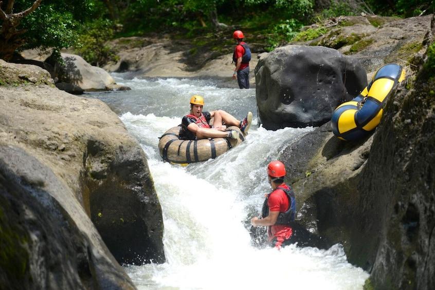Show item 3 of 10. Guachipelin Adventure: Zipline, Horseback & River Tubing