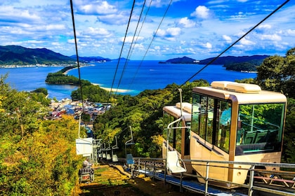 Cable car in Miyazu