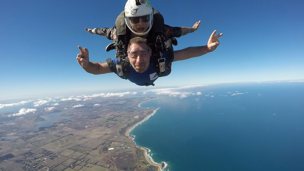 Show item 3 of 6. Tandem Skydive Over Bells Beach, Torquay