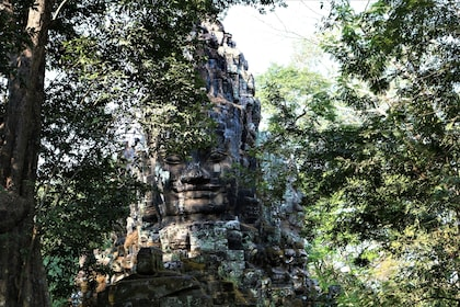 Stone statue at Temples of Angkor