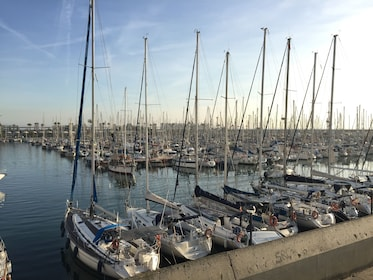 Harbor in Barcelona