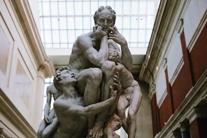 Sculpture at the Metropolitan Museum of Art in New York